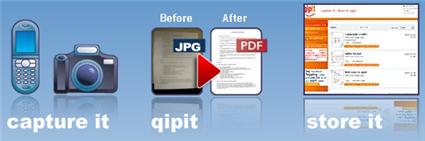 QipIt - Escáner y fax en tu teléfono móvil o cámara digital Qipit2