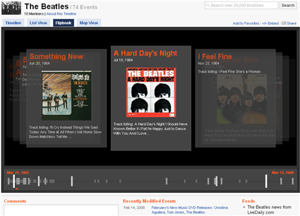 The Beatles en Dipity