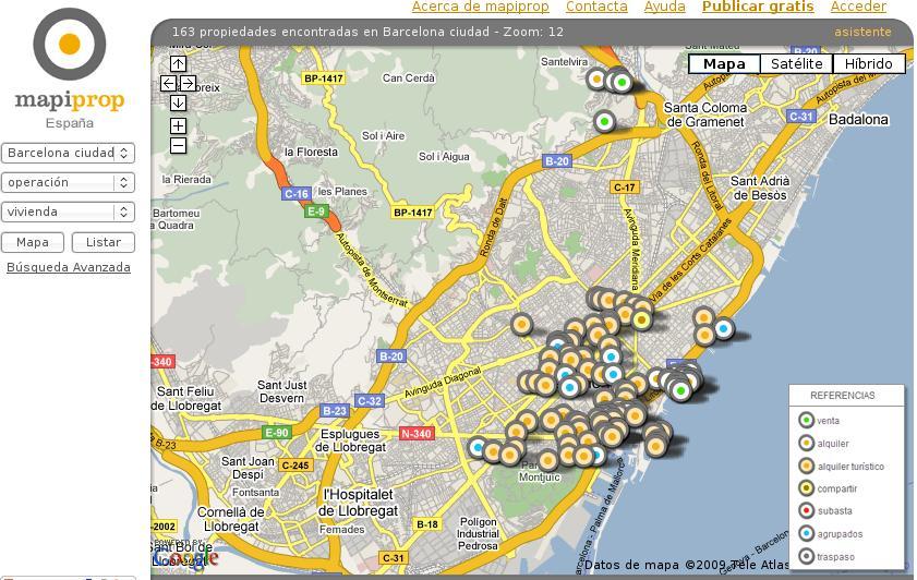 Buscador inmobiliario en internet for Buscador inmobiliario