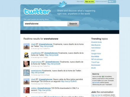 wwwhatsnew - Twitter Search