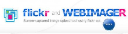 flickr and WEBIMAGER