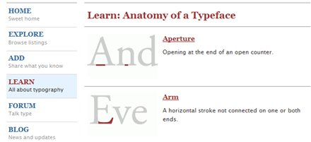 typediafont