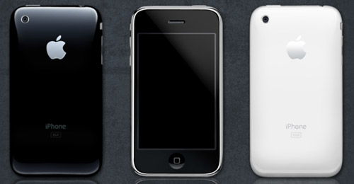 iphone 3g psd