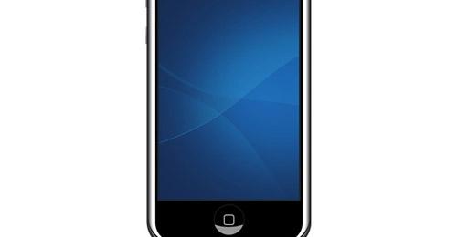 iphone in psd