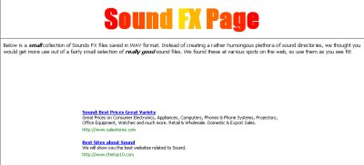 Sounds FX Page