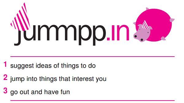 Jummpp.in – Compartilhe atividades para os momentos de lazer