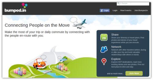 Bumped.in – Rede Social para quem gosta de viagens