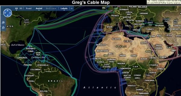 Cablemap.info – Mapa dos cabos submarinos ao redor do mundo