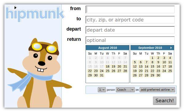 Hipmunk – Encontre os voos mais baratos para qualquer lugar do mundo