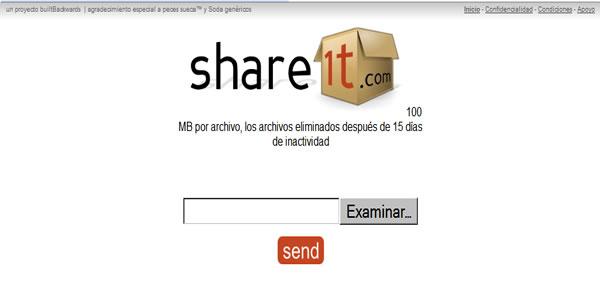 Share1T – Compartilhamento de arquivos com data de validade