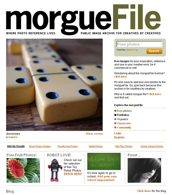 Morguefile - Free Photos For Creatives By Creatives