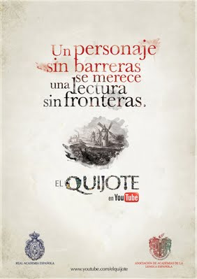 Lectura global del Quijote en Youtube
