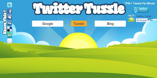 TwitterTussle – Descubra quem ou o que é mais popular no Twitter