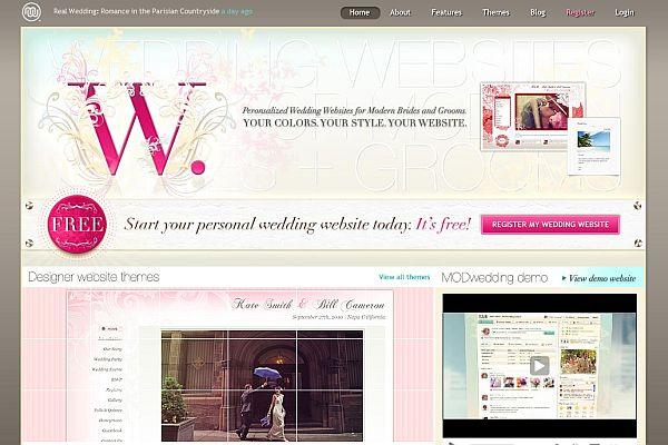 Sitio para personalizar tu propia boda