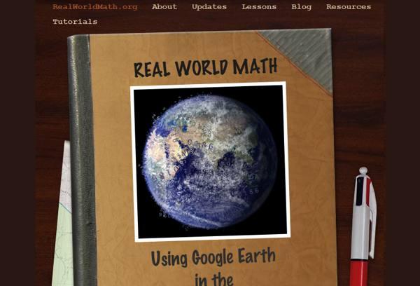 matematica, google earth