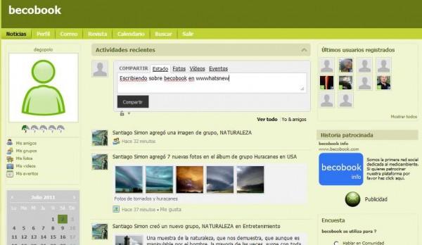 Becobook – Una nueva red social, en español, dedicada al medioambiente Becobook-600x348