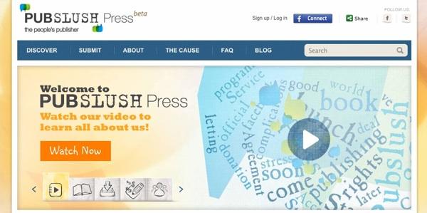 Pubslush, Apoyo Editorial A Proyectos Literarios