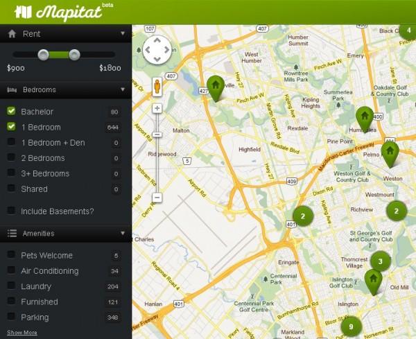 Mapitat una manera f cil de buscar pisos en alquiler for Webs buscar piso