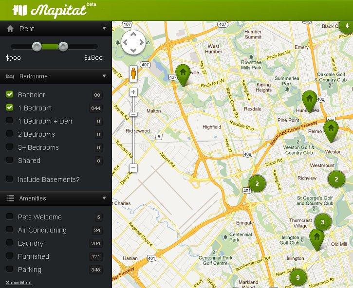 Mapitat una manera f cil de buscar pisos en alquiler - Aplicaciones para buscar piso ...
