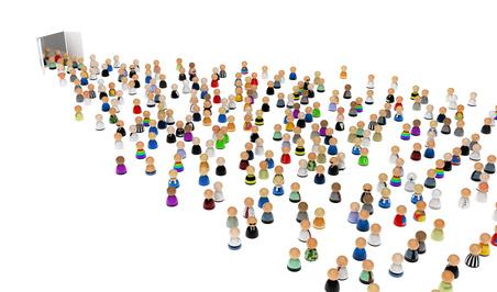 """© higyou – Fotolia.com La búsqueda de clientes se ha transformado en un concepto generalizado. Hoy las PYMES y grandes empresas, no son las únicas unidades productivas que conforman el nuevo orden social y económico, cada vez más, talentos individuales unidos al servicio del crecimiento de las marcas a las que representan, nos muestran un mapa cada vez más poblado de """"prosumidores""""…. Siempre a la caza y captura de """"nuevos clientes"""" Buscar y sobre todo, captar la atención de nuevos clientes, no es una labor fácil. ¡Hablamos de Social Media (dinámico y competitivo) y hablamos de impactar en las"""
