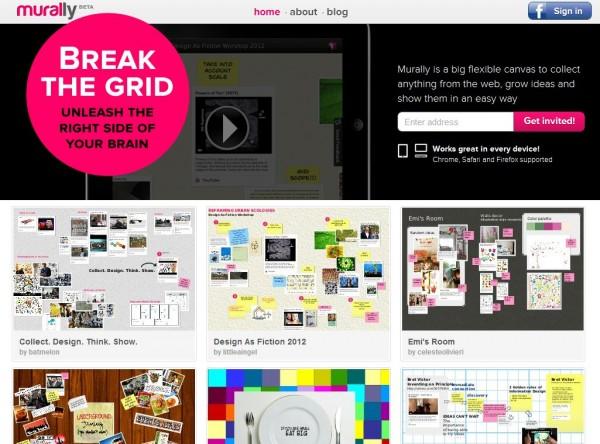 mural.ly – Crea y comparte murales con fotos, vídeos y te