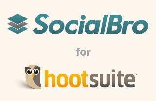 Desde la española SocialBro nos comunican la inclusión de la aplicación en el directorio de apps de HootSuite, permitiendo gestionar nuestras cuentas de Twitter en un solo panel de control. Podemos así administrar la publicación de contenido, las menciones, los retweets y mensajes directos con HootSuite, al mismo tiempo que analizamos nuestros contactos con SocialBro, siendo posible también hacer búsquedas dentro y fuera de nuestra comunidad y filtrarlas. La integración solo está disponible para los usuarios de la versión Pro de SocialBro, existiendo un periodo de free trial de 15 días. Fuente:wwwhatsnew