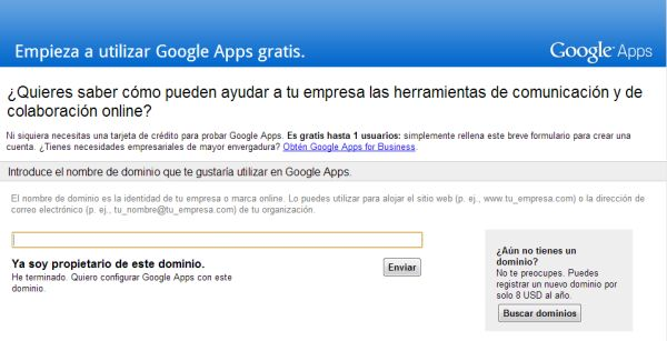 Google Apps Free