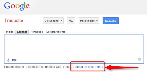 traducir documentos enteros