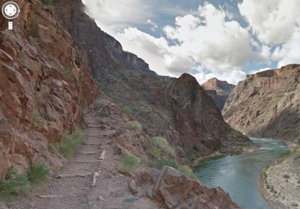 Gran Cañón con Street View