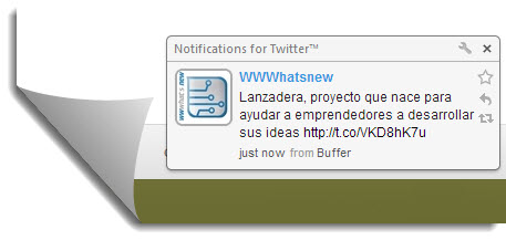 notificaciones de twitter