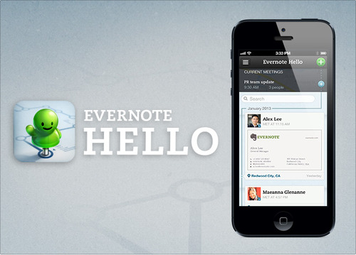 Evernote Hello 2.0._iPhone