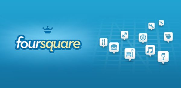 Foursquare para Android
