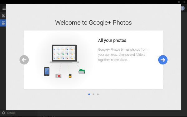 Google Photo Uploader