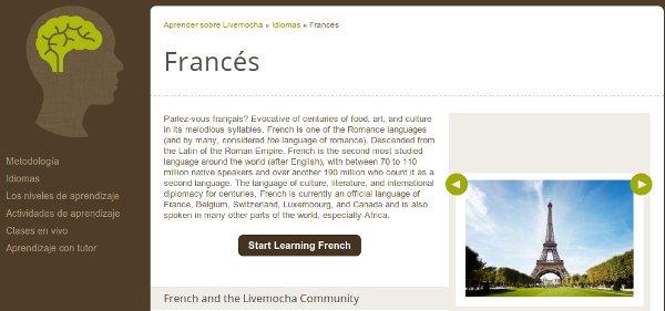 livemocha frances