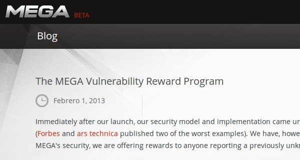mega programa de recompensas