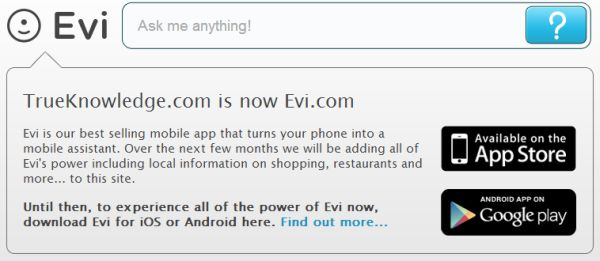Amazon acquires voice assistant Evi, available for Android and iOS
