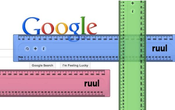 Dos opciones para medir cualquier elemento en una página web