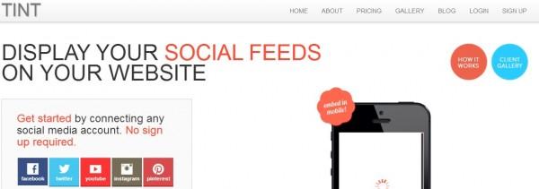 Tint, convirtiendo tu actividad social en contenido web