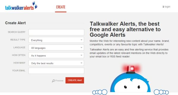 Talkwalker Alerts, una alternativa a Google Alerts