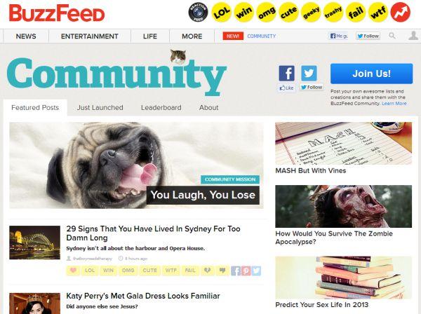 BuzzFeed Comminity
