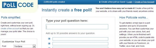 pollcode
