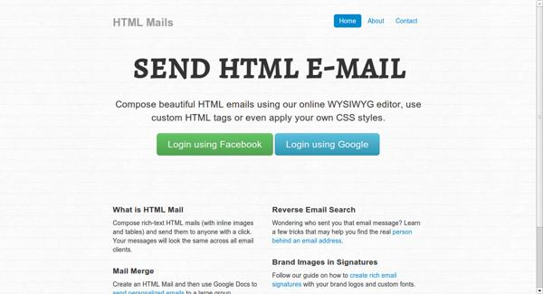 HTML Mail