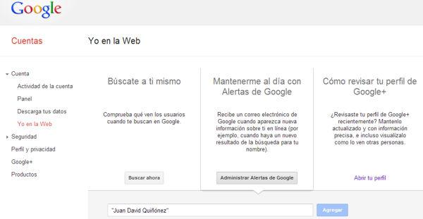 alertas google