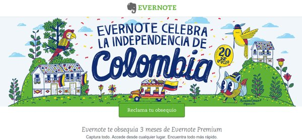 evernote colombia