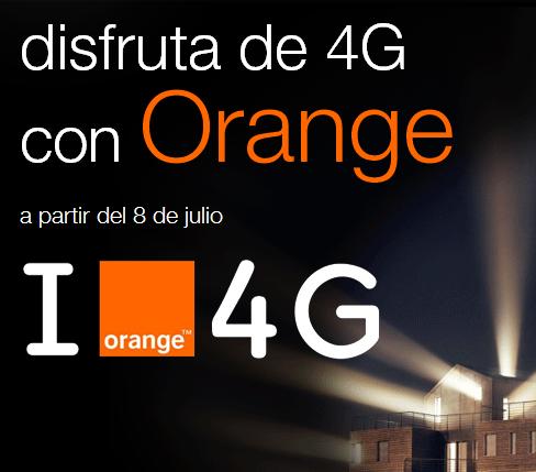 orange 4g cobertura movil internet rapido tecnologia