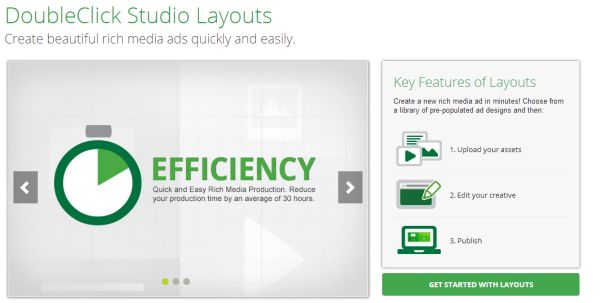 Doubleclick Studio Layouts