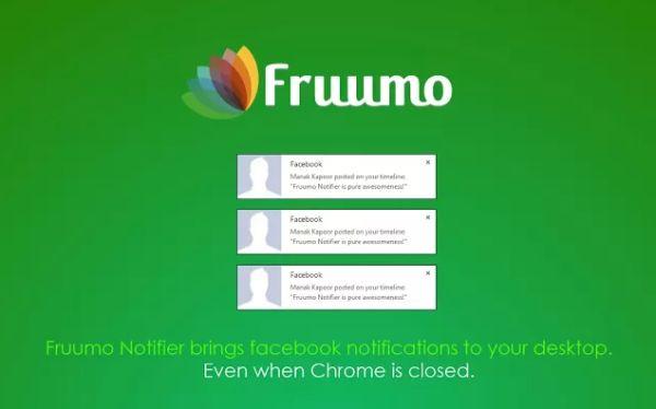 Fruumo Notifier