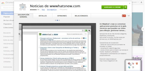 extension chrome wwwhatsnew
