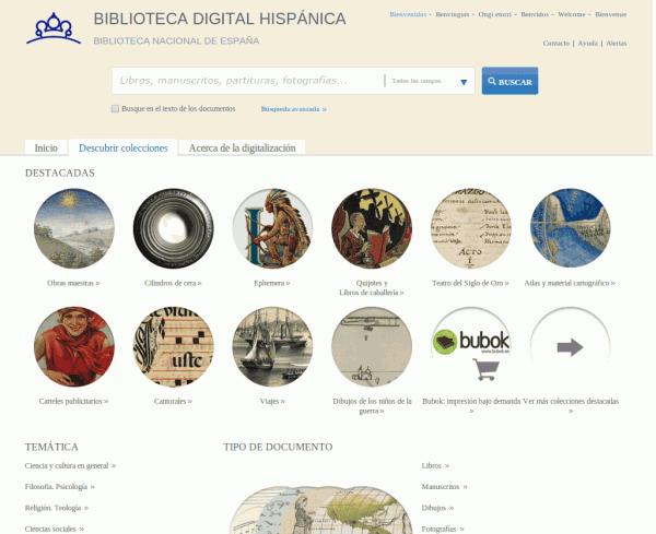 Biblioteca digital - Magazine cover