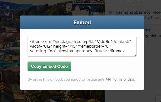 instagram embed 2